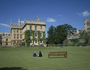 ニューカレッジのキャンパス イギリスの写真素材 [FYI03198394]