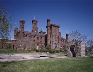 スミソニアン博物館本部  ワシントンDC アメリカの写真素材 [FYI03198453]