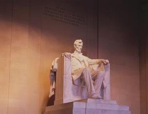 リンカーン像の写真素材 [FYI03198455]