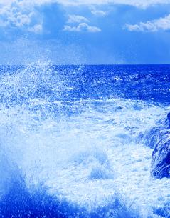 太平洋の波しぶきの写真素材 [FYI03198966]