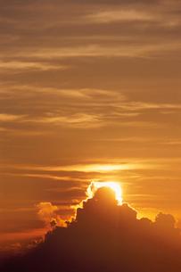 朝雲 日豊海岸の写真素材 [FYI03199657]