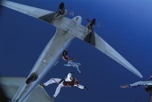 スカイダイビングの写真素材 [FYI03199747]