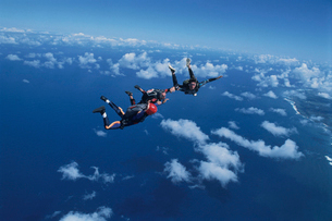 スカイダイビングの写真素材 [FYI03199750]
