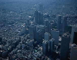 新宿の航空写真   東京都の写真素材 [FYI03199765]