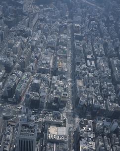 銀座の空撮   東京都の写真素材 [FYI03199768]