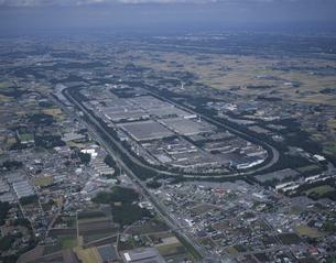 自動車のテストコース 栃木県の写真素材 [FYI03199769]