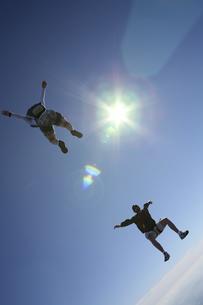 スカイダイビングの写真素材 [FYI03199773]