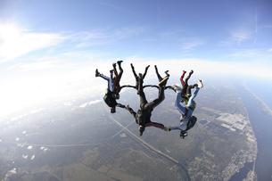 スカイダイビングの写真素材 [FYI03199796]