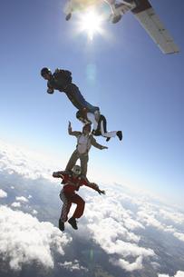 スカイダイビングの写真素材 [FYI03199809]