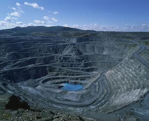アスベスト鉱山 ケベック州 カナダの写真素材 [FYI03200758]