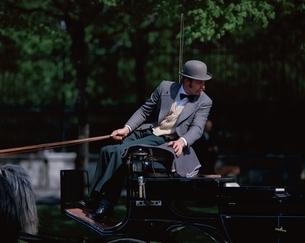 馬車の御者     ウィーン オーストリアの写真素材 [FYI03201074]