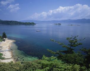 色ヶ浜の海   福井県の写真素材 [FYI03201466]