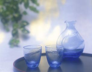 冷酒グラスの写真素材 [FYI03201474]