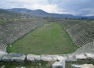 アフロディシアス遺跡の競技場 トルコの写真素材 [FYI03201489]