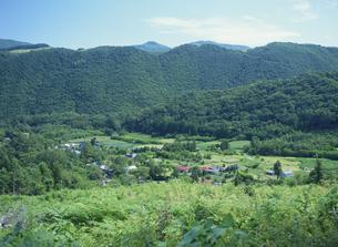 山根六郷の端神の集落の写真素材 [FYI03201695]