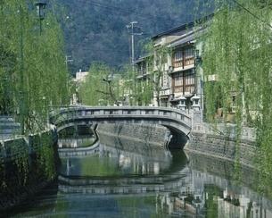 城崎温泉の風景 兵庫県の写真素材 [FYI03202029]