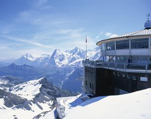 シルトホルン スイスの写真素材 [FYI03202097]