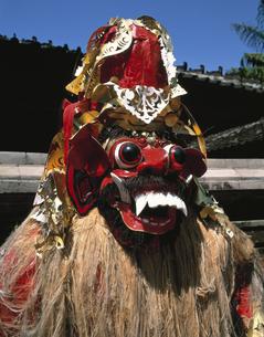 バロンダンスの面  バリ  インドネシアの写真素材 [FYI03202163]