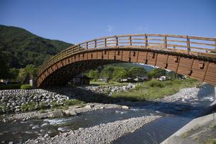 木曽の大橋の写真素材 [FYI03202218]