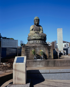 鎌ヶ谷大仏の写真素材 [FYI03202263]