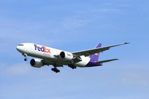 ジェット機 FedEX航空 貨物の写真素材 [FYI03202655]