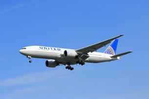 ジェット機 UNITED航空の写真素材 [FYI03202658]