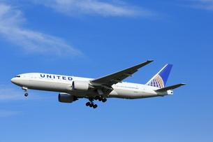 ジェット機 UNITED航空の写真素材 [FYI03202663]