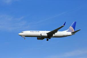 ジェット機 UNITED航空の写真素材 [FYI03202668]