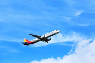 ジェット機 ASIANA航空の写真素材 [FYI03202688]