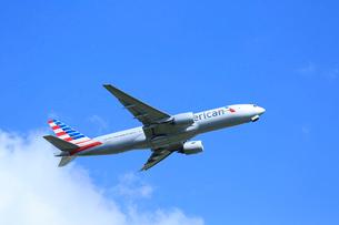 ジェット機 アメリカン航空の写真素材 [FYI03202694]