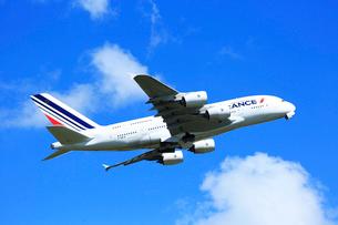 ジェット機 エアーフランス エアバスの写真素材 [FYI03202697]