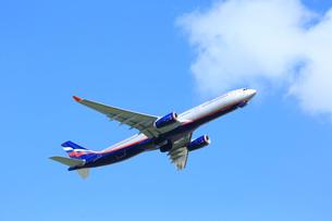ジェット機 アエロフロート エアバスの写真素材 [FYI03202700]