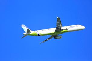 ジェット機 AIR BUSANの写真素材 [FYI03202704]