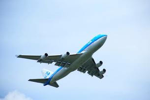 航空機 KLM   オランダ航空 ジャンボの写真素材 [FYI03202745]