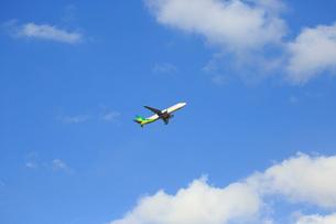 ジェット機 春秋航空の写真素材 [FYI03202856]
