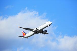 ジェット旅客機 フィリピン航空の写真素材 [FYI03202915]