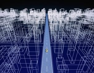 都市図面イメージ CGの写真素材 [FYI03203114]