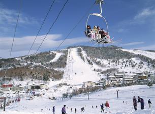一の瀬スキー場 志賀高原 長野県の写真素材 [FYI03203368]