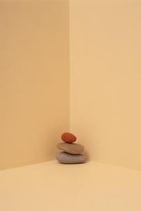 積まれた石の写真素材 [FYI03203933]