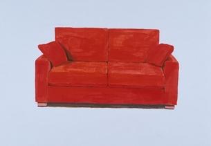 赤いソファ イラストのイラスト素材 [FYI03206430]