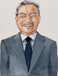 日本人の中高年ビジネスマン イラストのイラスト素材 [FYI03206441]