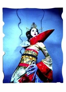 着物を着た日本人女性の写真素材 [FYI03206542]