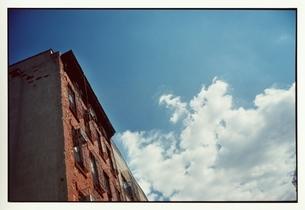 ニューヨークのビルと空の写真素材 [FYI03207273]