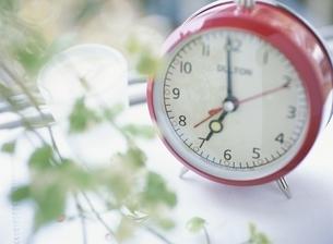 目覚まし時計の写真素材 [FYI03207570]