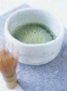 茶筅と抹茶の写真素材 [FYI03207574]