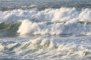 日本海の波の写真素材 [FYI03207907]