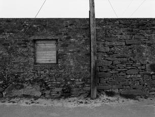 石積みの重々しい壁の写真素材 [FYI03207998]