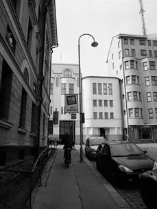 ヘルシンキの街角の写真素材 [FYI03208004]