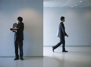 日本人ビジネスマン2人の写真素材 [FYI03209718]