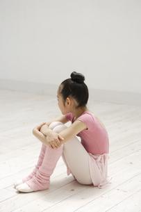 レオタード姿の女の子の写真素材 [FYI03209897]